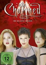 HOLLY MARIE/MCGOWAN,ROSE/MILANO,ALYSSA COMBS - CHARMED S6 MB  6 DVD NEU