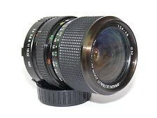 Braun ultralit 28-70 mm Minolta m 3,4-4,8 reciben bien lente vintage 208