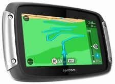 TomTom TOM TOM RIDER 40 NAVIGATORE SATELLITARE SAT NAV Lifetime mappe + Traffico Europa occidentale
