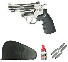 ASG Dan Wesson 17177 Revolver Kit w/ case, BB's, and 5 CO2's