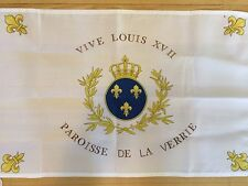 DRAPEAU De Stofflet Sacre COEUR ROYAL CHOUAN ROI FRANCE VENDEE CATHOLIQUE