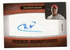 Brandon Harris NFL 2011 Timeless Treasures AUTO ROOKIE CARD (Houston Texans) / 463
