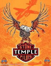 Emek Art STP Stone Temple Pilots mini Concert Tour Poster Eagle Core Purple