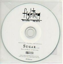 (286D) Fighting With Wire, Sugar - DJ CD