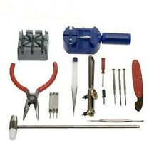 BRAND NEW 16 PCS WATCH REPAIR TOOL SET KIT *UK SELLER*