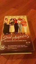 STEEL MAGNOLIAS - SALLY FIELD,  DOLLY PARTON - VHS VIDEO TAPE