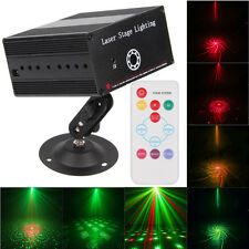 FULL COLOR RG LASER STAGE LIGHTING RED GREEN BLUE LED DJ KTV Disco Club Light