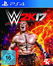 PS4 WWE 2K17 SONY PLAYSTATION 4 WRESTLING INKL GOLDBERG PACK EDITION SET NEU