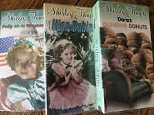 3 SHIRLEY TEMPLE VHS Movie's 2000 Vidtape Inc, New Sealed