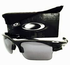 New Oakley Sunglasses Fast Jacket XL Black W/Grey 9156 30  Authentic