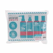 Adventure Awaits set of travel bottles in a bag - Beauty Accessories