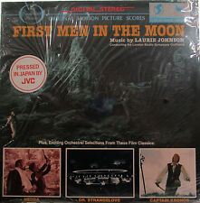 First Men in the Moon + Dr. Strangelove + Hedda (Soundtrack) (Laurie Johnson) ss