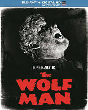 THE WOLF MAN [INCLUDES DIGITAL COPY; ULTRAVIOLET] NEW BLU-RAY