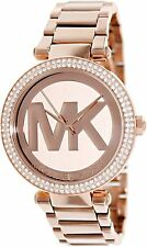 Michael Kors Parker Rose Gold-Tone Stainless Steel Ladies Watch MK5865