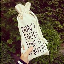 """Don,t Touch,This Is My Bottle""Bag Portable Sport Water Bottle Bag Cover"