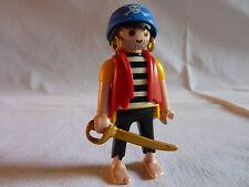 PLAYMOBIL personnages bateau mer océan flibustier arme le pirate et épée n°6 j