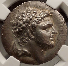 PERSEUS king of MACEDONIA Silver Greek NGC Certified AU Tetradrachm Coin i57202
