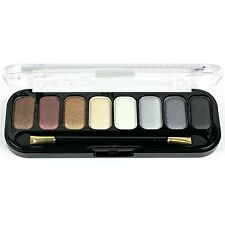 Body Collection Ultra Eye Shadow Palette 8 shades & double end brush in case