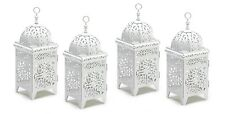 """Intricate Floral Candle Lantern 10 3/4"""" Tall (Set of 20) Wedding Supplies 38332"""