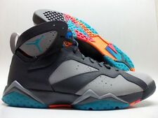 "NIKE AIR JORDAN 7 RETRO ""BARCELONA DAYS"" DARK GREY SIZE MEN'S 14 [304775-01"