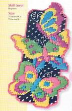 BUTTERFLY BOOKMARK PLASTIC CANVAS PATTERN INSTRUCTIONS