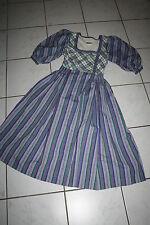 KL2932 @  Dirndl @ Trachtenkleid @ Miederdirndl @ vintage Bavarian Dress 34