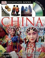 China - DK Eyewitness Books - Dorling Kindersley - with Poster and ClipArt CD