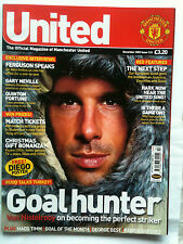 No 123 Manchester United Official Magazine December 2002