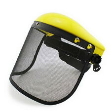 Chainsaw Safety Helmet Brushcutter Strimmer Protective Hat Face Shield Screen  タ