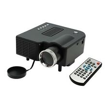 Newly 1080P HD Multimedia LED Projector Home Cinema Video AV TV VGA HDMI Cheap