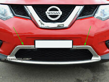 2 Pcs Chrome Lower Front Bumper Grille Garnish for Nissan X-trail T32
