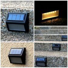6LED Solar Power PIR Motion Sensor Wall Light Outdoor Waterproof Garden Lamp New