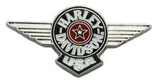 HARLEY DAVIDSON FAT BOY LOGO DIE CAST HARLEY  PIN