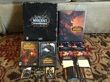 World Of Warcraft WOW Cataclysm Collectors Edition 2010 Excellent Condition