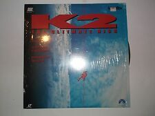 K2: The Ultimate High, Laserdisc LV32828, Paramount Home Video