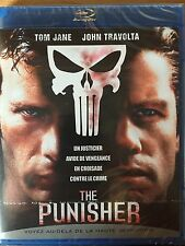 THE PUNISHER BLU RAY TOM JANE HOHN TRAVOLTA NEUF SOUS CELLOPHANE