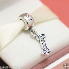 * New! Authentic Pandora I Love My Dog Dangle Charm 791263CZ