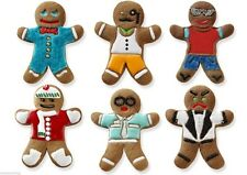 Tovolo Gingerbread Man Cookie Cutter & 6 Design Stamps Set Ginger Boys Holiday