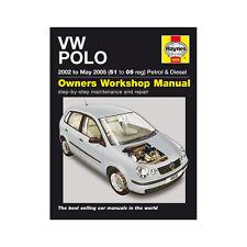 [ 4608 ] VW Polo 1.2 1.4 ESSENCE 1.4 1.9 Diesel 2002-2005 (51 à 05 reg) Haynes manua
