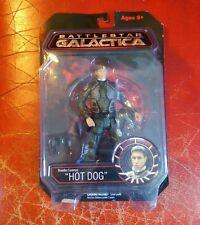 Battlestar Galactica Figura de Acción Brendan Costanza Perro Caliente Nuevo
