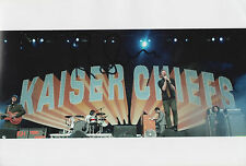 RICKY WILSON Signed 12x8 Photo THE KAISER CHIEFS Music COA