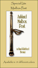 Special Lite Ashland Mailbox Post with Direct Burial Kit - 14 Color Choices