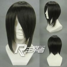 NEW cosplay  wig black wig Sebastian  Long sideburns wig Free shipping