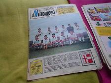 IL   VITTORIOSO    nr    27    1965     CALCIO   SQUADRA    PADOVA    SCHIERATA