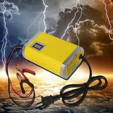 Intelligent 12V 6A Motorcycle Car Truck Auto Battery Charger Charging Machine ss