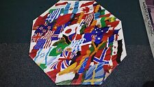 "Springbok Octagonal ""Flags of the World"" 500+ piece 21"" x 21"" puzzle"