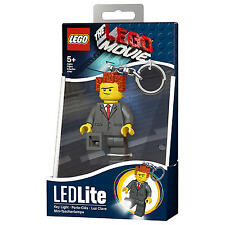 THE LEGO MOVIE PRESIDENT BUSINESS LED LITE TORCH BRAND NEW GREAT GIFT KEYLIGHT