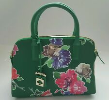 NWT Kate Spade Rachelle Brightwater Bag Bright Green Floral Spring Bloom