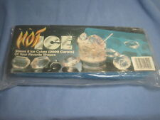 Vintage BOGEY ICE Jewel DIAMOND gemstone Ice Cube TRAY MOLD - 8 cube tray - NIB!