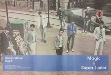 SUPER JUNIOR SPECIAL ALBUM PART 2 MAGIC POSTER ONLY  - Poster in Tube